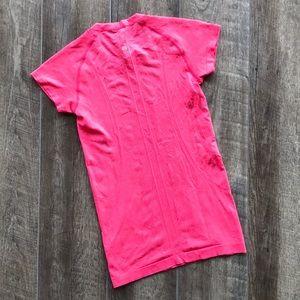 lululemon Pink Swiftly Tech Short Sleeve Shirt